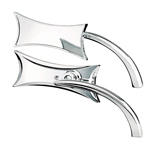 FOUR POINT MICRO MIRROR CHROME LEFT