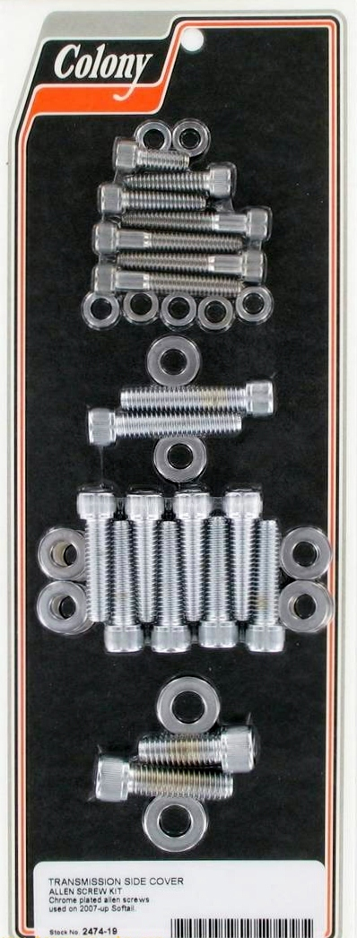 TRANSMISSION SIDE COVER SCREWS