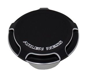 BEVELED FUEL CAP BLACK
