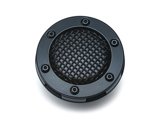 FUEL CAP MESH SATIN BLACK