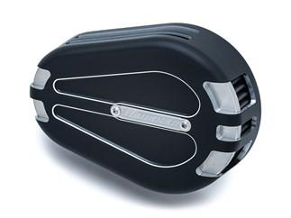 CRUSHER AIR CLEANER SATIN BLACK
