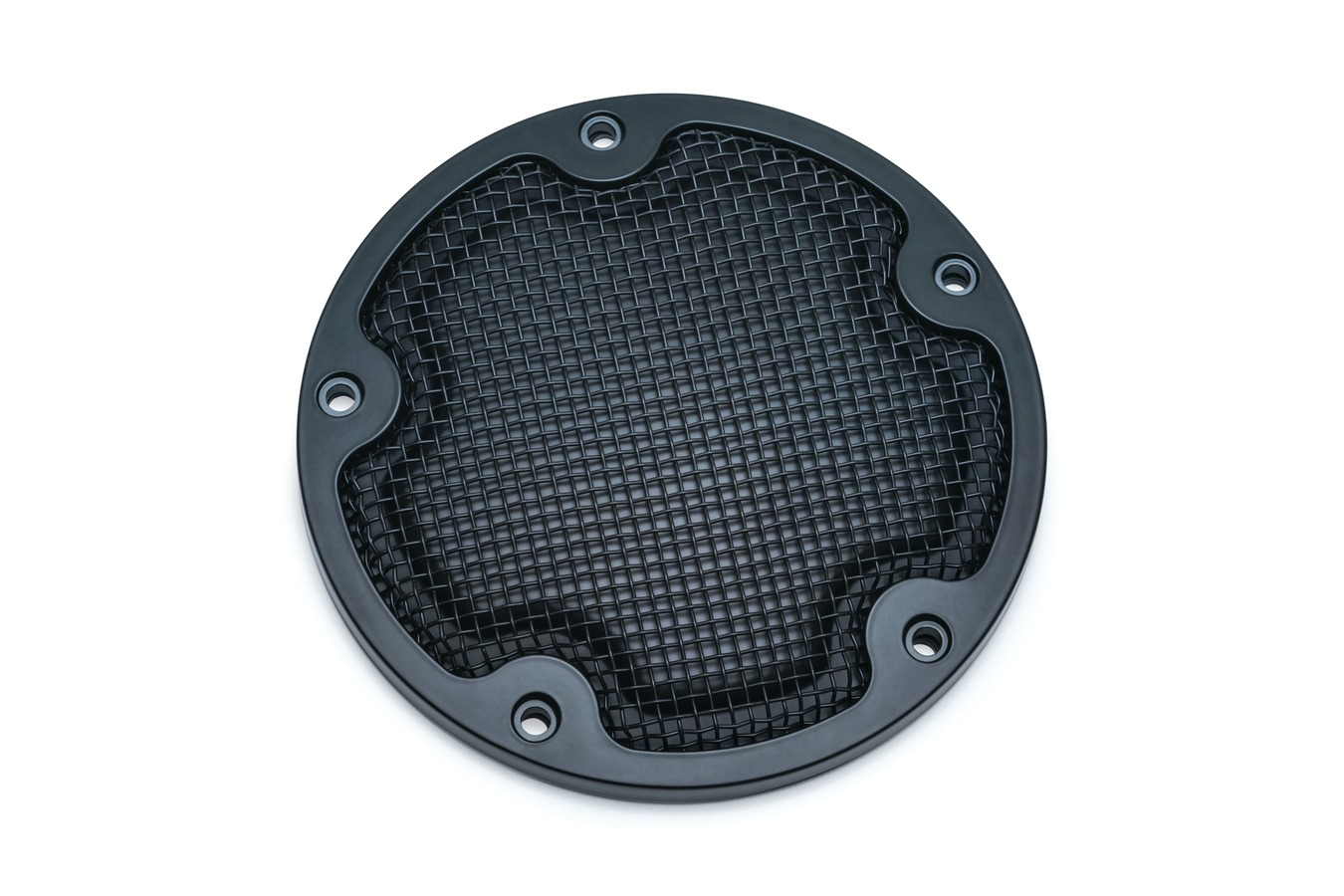 MESH DERBY COVER BLACK