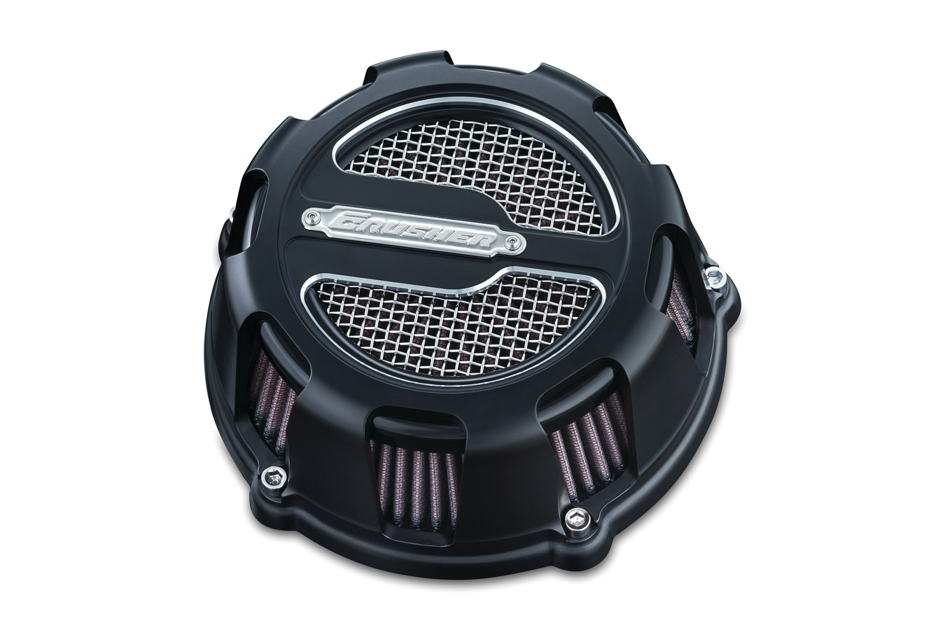 CRUSHER MAVERICK AIR CLEANER SATIN BLACK