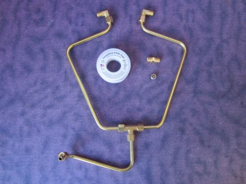 ROCKER BOX OIL LINE KIT BRASS