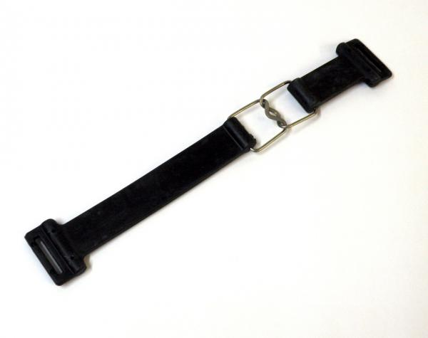 BATTERY STRAP SET RUBBER BLACK