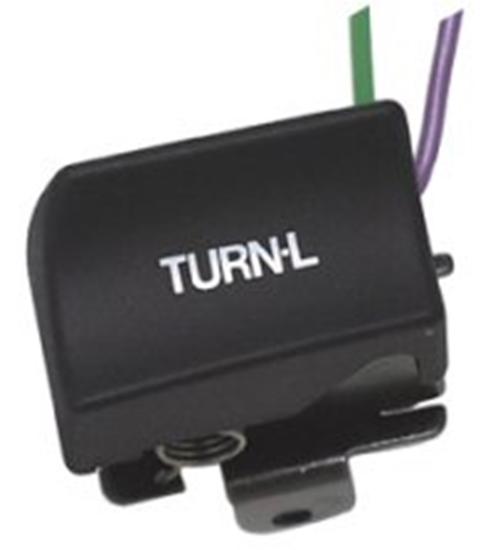 TURN SWITCH L/H BLACK