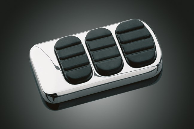 ISO BRAKE PEDAL PAD CHROME