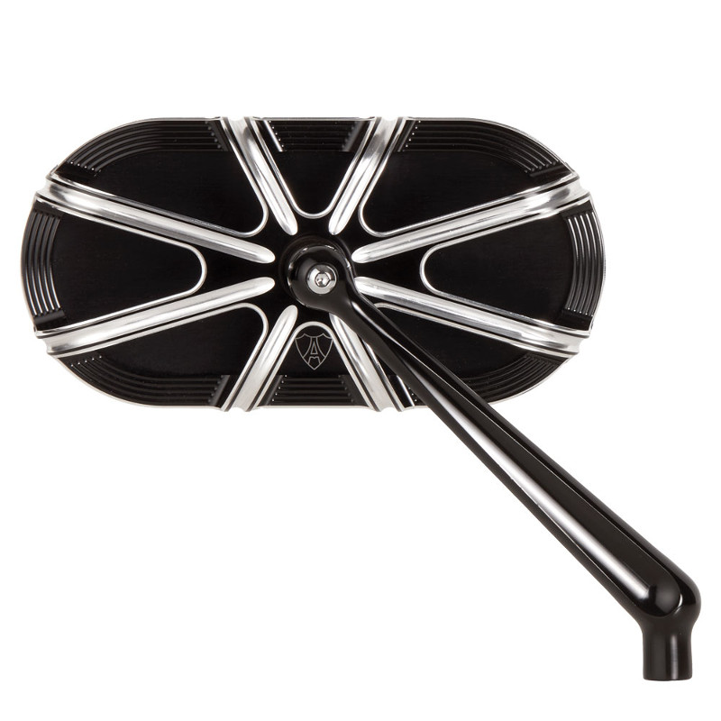 10-GAUGE SERIES FORGED BILLET BLACK LEFT