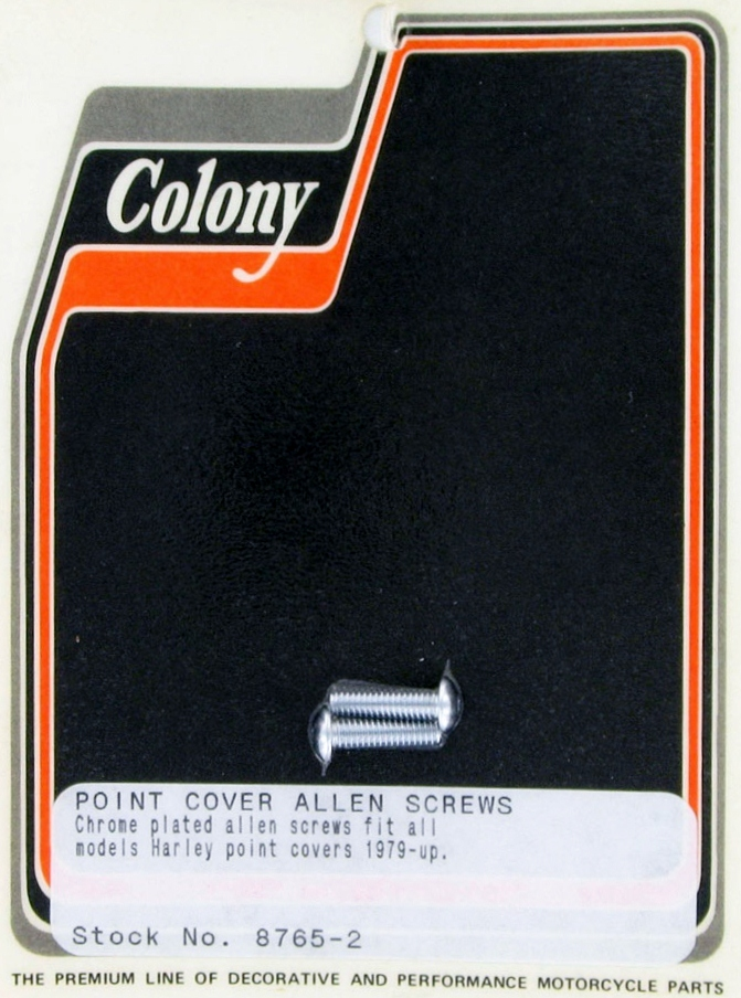 POINT COVER SCREWS CHROME