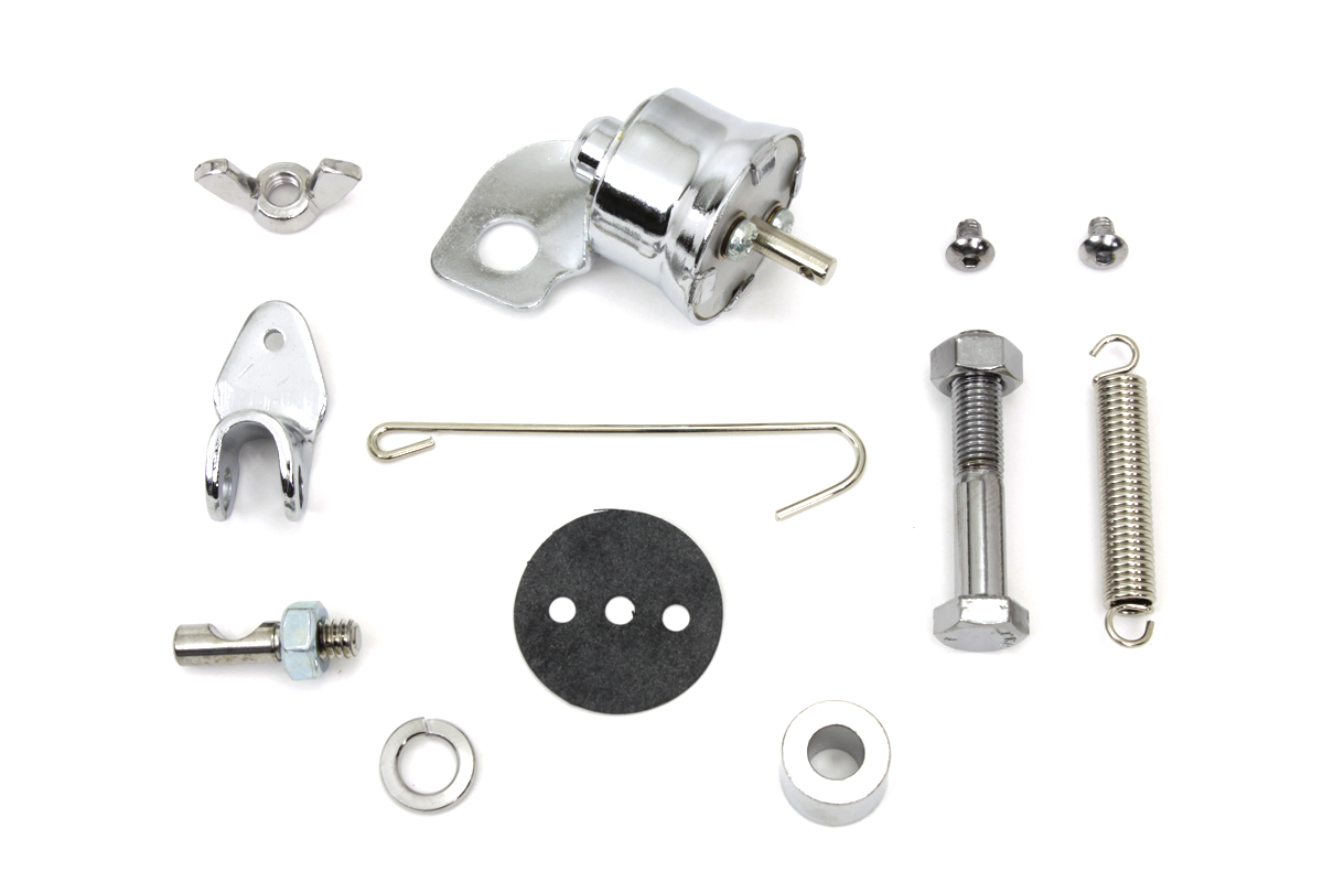 BRAKE SWITCH KIT PULL TYPE CHROME
