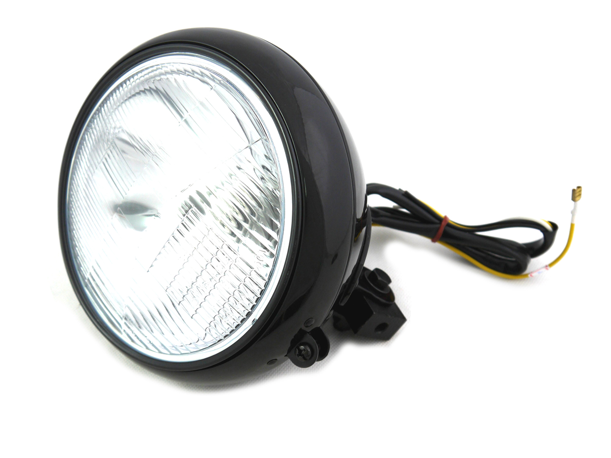 HERITAGE HEADLIGHT BLACK 7