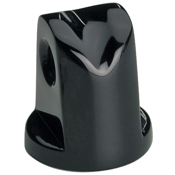HEADLIGHT MOUNT BULLET BLACK