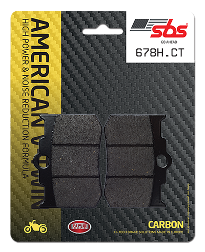 BRAKE PADS FRONT & REAR CARBON