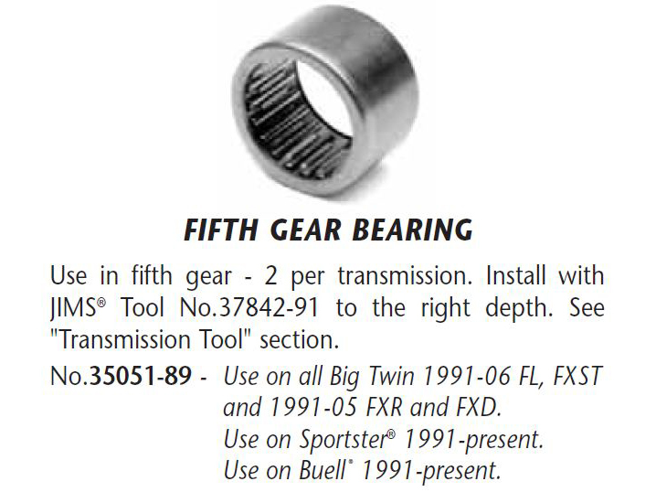 BEARING MAIN DRIVE GEAR
