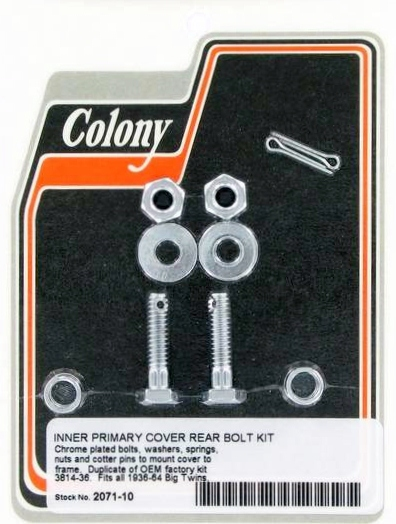 V-Twin 9724-30 Primary Cover Screw Parkerized
