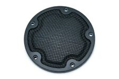 MESH DERBY COVER SATIN BLACK