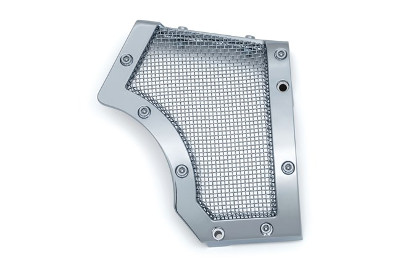 MESH FRONT PULLEY COVER CHROME