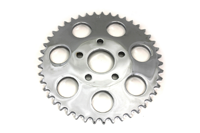 REAR SPROCKET 45 TOOTH CHROME