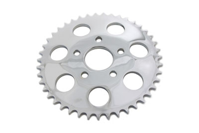REAR SPROCKET 43T CHROME