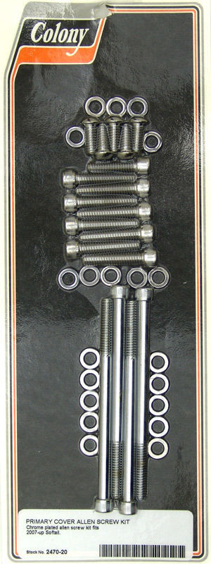 PRIMARY COVER SCREW KIT