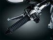 BRAIDED THROTTLE GRIPS BLACK