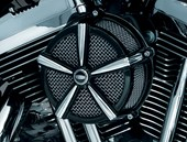 MACH 2 AIR CLEANER BLACK