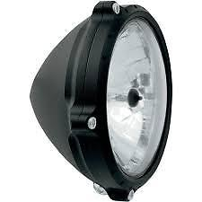 HEADLIGHT VINTAGE BLACK